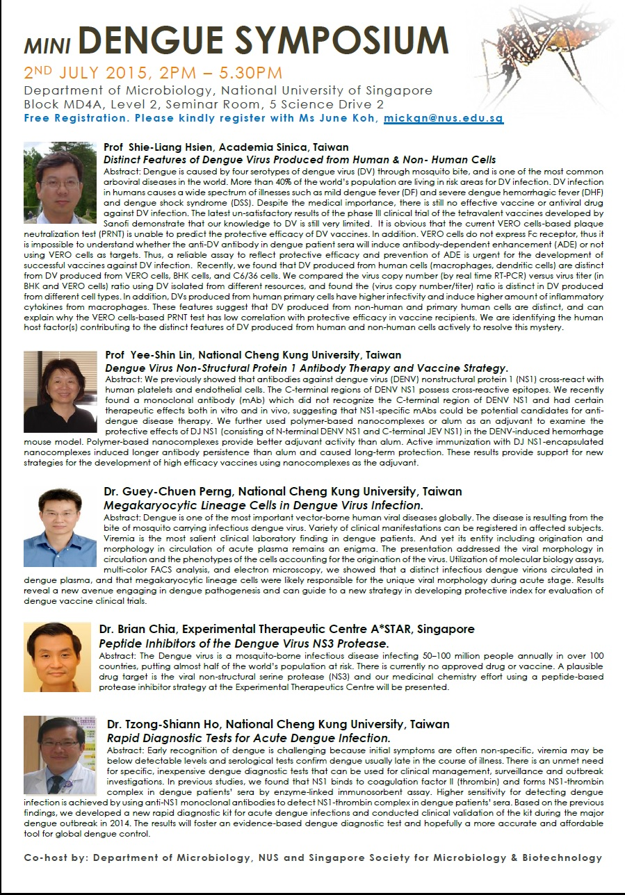 Mini Dengue Symposium