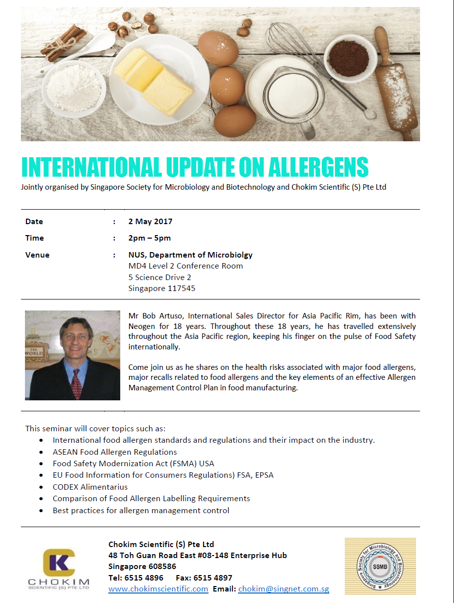 InternationalUpdateonAllergensSeminar
